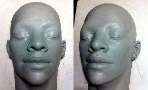 female face by Cleytonoliveira