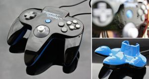 Custom Perfect Dark N64 controller by Zoki64