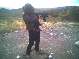 Me Shooting Stock 5 by ChaosStock