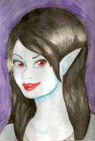 Marceline- watercolor by AlexisM96