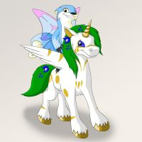 Reve and Jina by uncle-bilbo