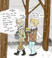Hetalia: Canada and America and Syrup by ExclusivelyHetalia