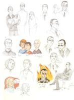 Good Omens mcsketchies by mjOboe