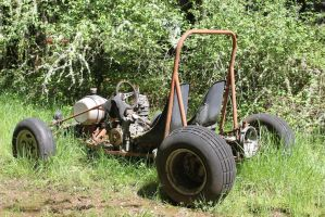 Old school dune buggy by finhead4ever
