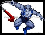 Panthro attack by Zotgar