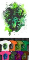 Jungle Sovereign shirt colors by myargie22