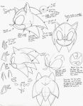 How to Draw Sonic: Part 1 by sonicboom53