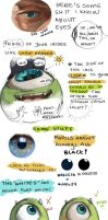Tips for Painting Eyes by nepputune