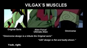 Vilgax Muscles by SilverLady7