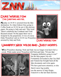 Zootopia news paper Weaselton The Cheating Master by FairytalesArtist
