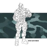 Future Military - Infantry by LeeSmith
