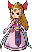 Four swords Princess Zelda by ToonPrincessZelda43
