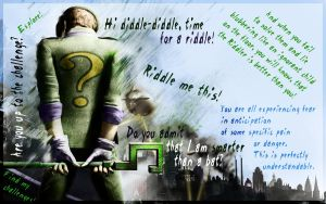 The Riddler - Arkham City by lucas9412
