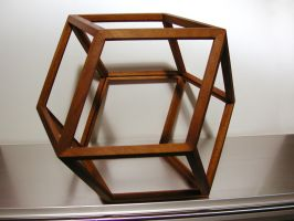 rhombic dodecahedron by sharp-chisel