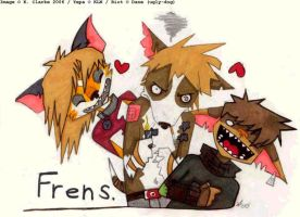 FRENS by CrappyZombie