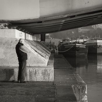 Watching the Barges by madvax