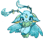 Lyralookee Adopt: GIFTED TO: Official-lunaflaire by Wave-Glacier