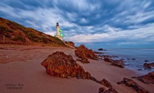 Lighthouse in March by DanielleMiner