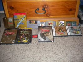 Zelda Collection 100th by Iluvtoonlink