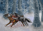 Never kill a reindeer by ice-or-fire