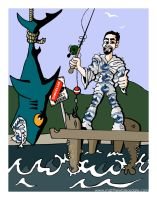 Canucks : Gone Fishing by Bleezer