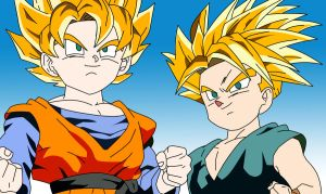 Goten and Trunks by linz12345
