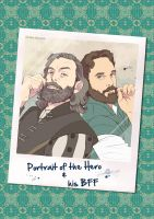 Galavant - Portrait of the Hero and his BFF by mary-dab