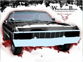 Work in progress / Winchester Chevy by mrmanders