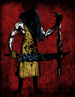 Red Pyramid - Colored by centric-prometheus