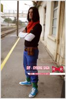 Dragonball Cosplay Android 17 by Nostal