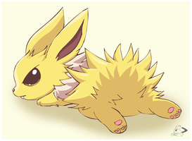 Baby Jolteon by pichu90