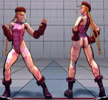 Cammy - SSFII Pink - MOD - SSF4AE by somebody2978