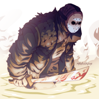 Halloween Countdown #3: Jason by Mikuloctopus
