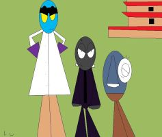 The Three Heroes 2 by LRW0077