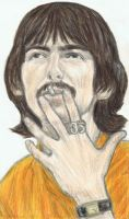 George Harrison wearing an Om ring by gagambo
