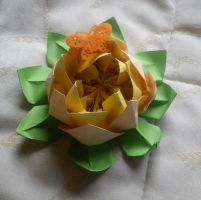 origami blossom LOTUS by noemi111