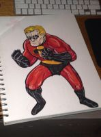 Mr Incredible by MARR-PHEOS