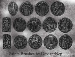 Catholic Saints Brushes by DeviantNep