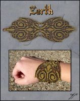 Elemental Bracelet - Earth by Ellygator