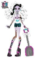 'Your Monster High' Entry Grave Robber's Daughter by ivy-cinder