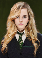 slytherin girl by ohmonegerie