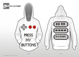 Press My Buttons - 8-bit Challenge by evilygoodgirl
