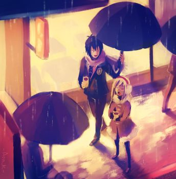 It's raining by Aonik