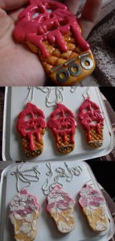 I-Scream necklaces by Gee-tar
