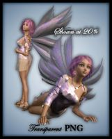 Pink Fairy-Figure Stock by shd-stock