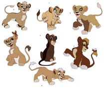 Lion Cub Adoptables by Claire-Cooper