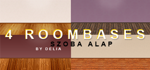 4 roombases (szoba alap) by deliasworks