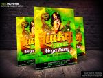 Free St Patricks Day Flyer Template PSD by Industrykidz