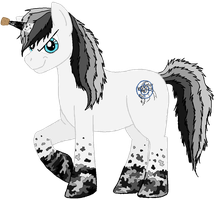 Pony Design for my cousin. :3 by Jennidash
