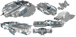 Spirit Of Intuition Leviathan WIP by madcomm